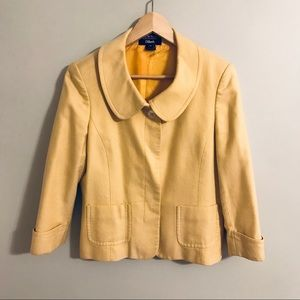 Gorgeous Yellow Jacket! Super well made!